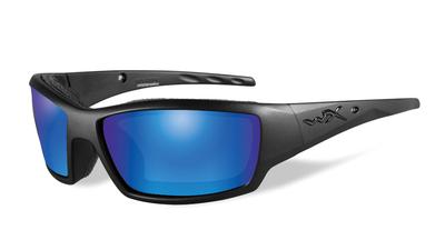 ワイリーX タイド マットブラック ブルーミラー偏光レンズ
