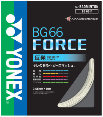 【ヨネックス】BG66 FORCE(BG66フォース) BG66F