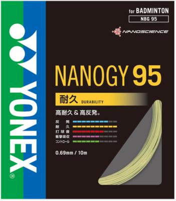 【ヨネックス】NANOGY95 (ナノジー95) NBG95