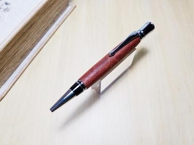 花梨 回転式ボールペン