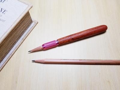 花梨 タイ産 鉛筆補助軸 エクステンダー