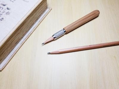 御山杉 伊勢神宮神域材 鉛筆補助軸 エクステンダー