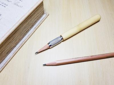 南天 縁起物の木 鉛筆補助軸 エクステンダー