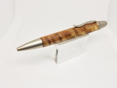 煌く日光杉 天然記念物 瘤材 光明杢ボールペン