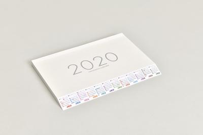 ななめもーるカレンダー2020(ノート型)