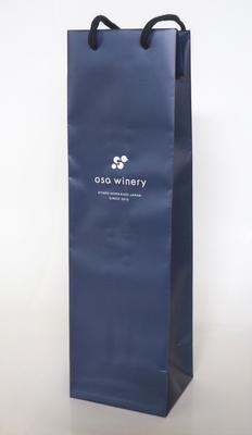 ワイン1本用紙袋(OSA WINERY ロゴ入り)