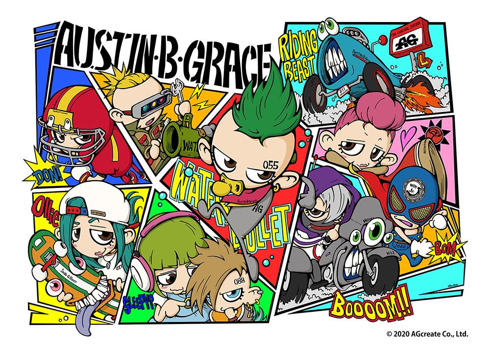 Austin・B・Grace|オースティン・ビー・グレイス
