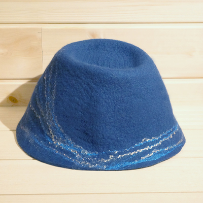 SaunaHat[dark blue]