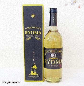 菊水酒造 黒糖酒 JAPANESE RUM RYOMA 720ml 32度