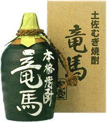 菊水酒造 麦焼酎 竜馬陶器つぼ入り 25度 720ml