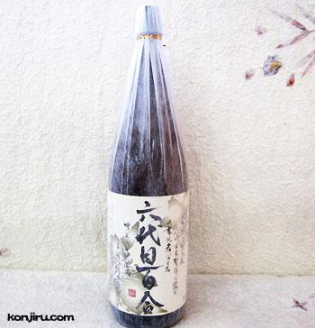 塩田酒造 六代目百合 25度 1800ml