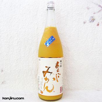 梅乃宿酒造 あらごしみかん 1800ml 7度【クール便】