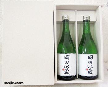 高知酒造 純米酒 岡田以蔵 720ml×2本セット