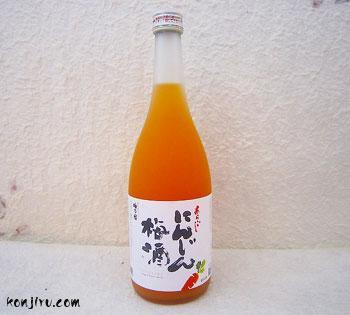 梅乃宿 あらごし にんじん梅酒 8度 720ml