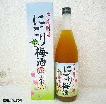 山元酒造 にごり梅酒 梅太夫 12度 720ml