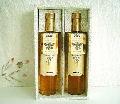 菊水酒造 蜂蜜酒(ミード) シークレット・オブ・クレオパトラ 2本化粧箱入りギフトセット