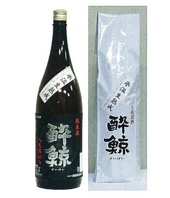 酔鯨酒造 純米酒 八反錦60% 氷温生熟成 1800ml【4~10月までクール便】