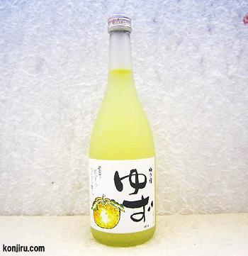 梅乃宿 ゆず酒 720ml 8度