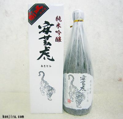 有光酒造場 安芸虎 純米吟醸たれくち 無濾過生酒 720ml