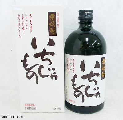 土佐鶴酒造 栗焼酎 いちじゃもの 25度 720ml