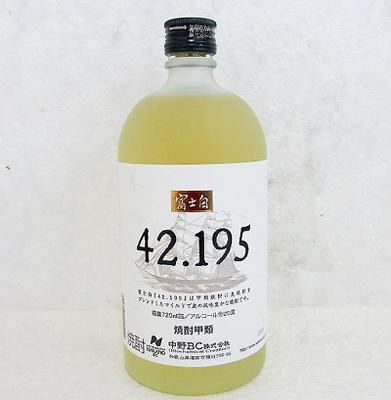 中野BC 富士白 42.195 麦混和焼酎 720ml 25度