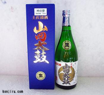 松尾酒造 純米吟醸酒 山田太鼓 吟の夢 生酒 720ml