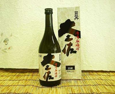 司牡丹 清酒取焼酎 大土佐 25度 720ml