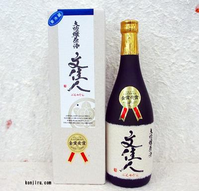 アリサワ酒造 文佳人 大吟醸原酒 金賞受賞酒 720ml【クール便】