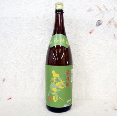 菊水酒造 栗焼酎 よさこい 25度 1800ml