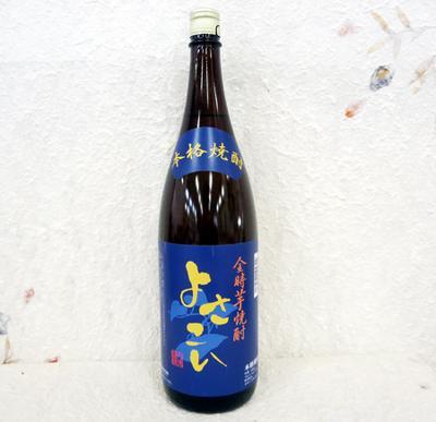 菊水酒造 芋焼酎 よさこい 25度 1800ml