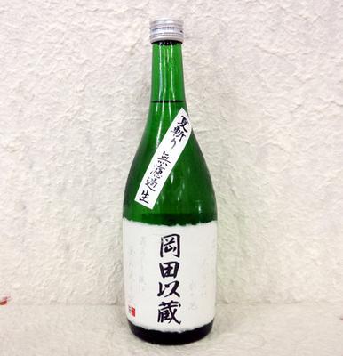 高知酒造 純米酒 岡田以蔵 夏斬り 無濾過生原酒 720ml【クール便】