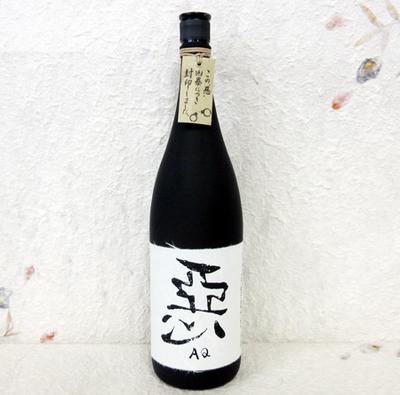 王手門酒造 麦焼酎 悪(AQ)-あくのくろぶか 1800ml 28度