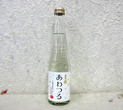 土佐鶴 あわつる 発泡性清酒 300ml 12度