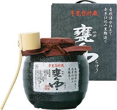 寿海酒造 甕ん中 芋焼酎・甕壺貯蔵 1800ml 25度