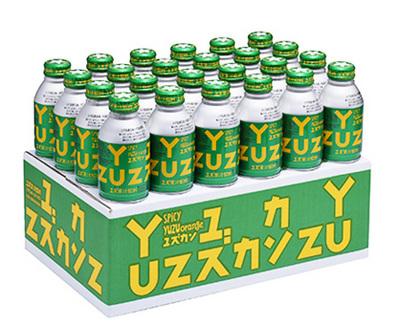 馬路村農協 ユズカン(ゆず果汁飲料)270ml×24本入