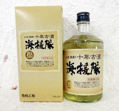 土佐鶴 海援隊十年古酒 特別限定品25度 720ml