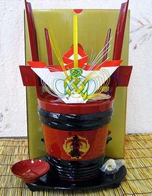 土佐鶴酒造 土佐鶴 角樽(漆塗り)1.8L
