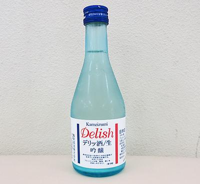 亀泉酒造 デリッ酒 特選 吟醸生 300ml【クール便】