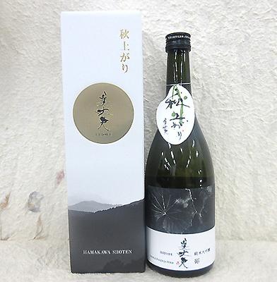 浜川商店 純米大吟醸酒 美丈夫 鄙(ひな)秋上がり 720ml【クール便】