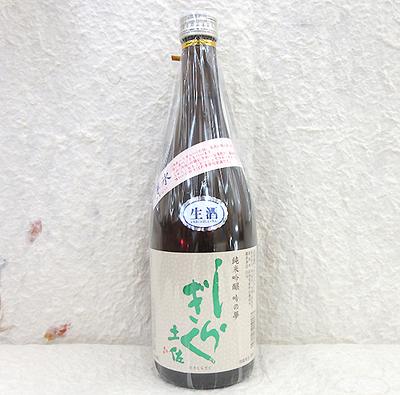 仙頭酒造場 土佐しらぎく 純米吟醸 薄氷 生 吟の夢 720ml【クール便】