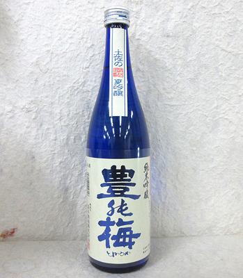 高木酒造 豊能梅 土佐の夏吟醸 純米吟醸酒720ml