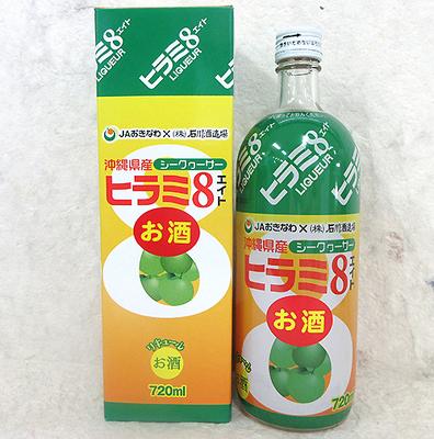 石川酒造場 ヒラミ8 泡盛リキュール 6度 720ml