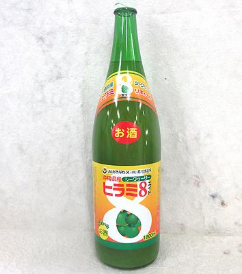 石川酒造場 ヒラミ8 泡盛リキュール 6度 1800ml