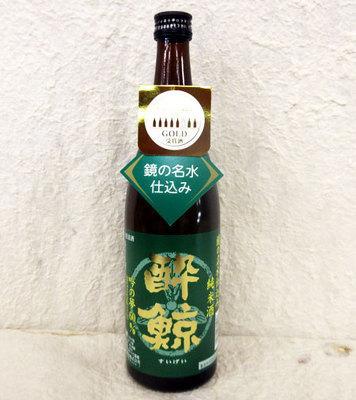 酔鯨酒造 吟の夢60% 純米酒 1800ml