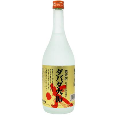 無手無冠 栗焼酎ダバダ火振 720ml(箱無し)