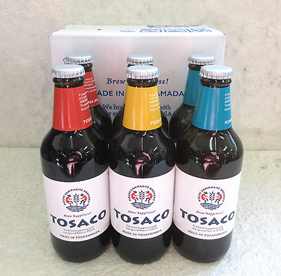 TOSACO IPA・米・ゆず 330ml×6本セット(専用箱入)【クール便】