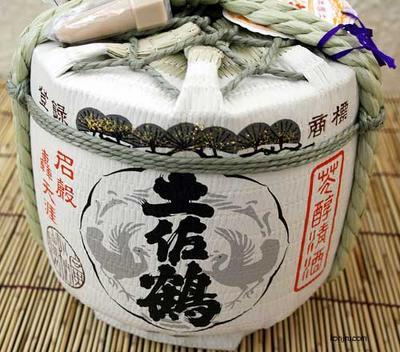 土佐鶴酒造 土佐鶴 菰樽(こもだる)1.8L