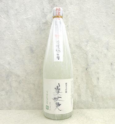 浜川商店 美丈夫うすにごり 純米大吟醸 舞 720ml【クール便】