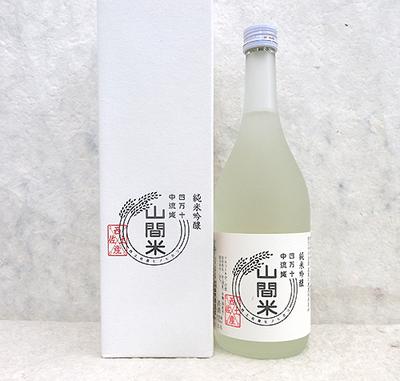 西岡酒造 純米吟醸 山間米 無濾過 720ml