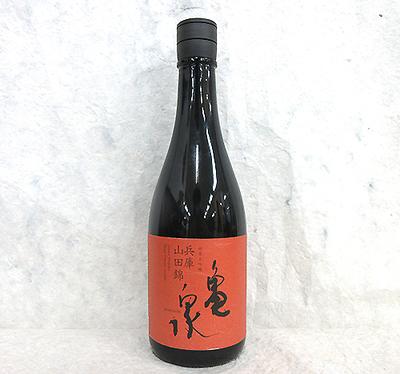 亀泉酒造 純米大吟醸 兵庫山田錦 720ml【クール便】